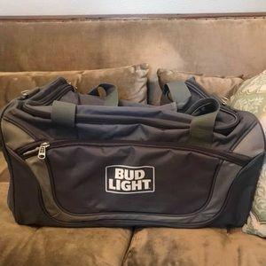Bud Light Bags - NWT Officially Licensed Bud Light Travel bag 72c64813a2bdb